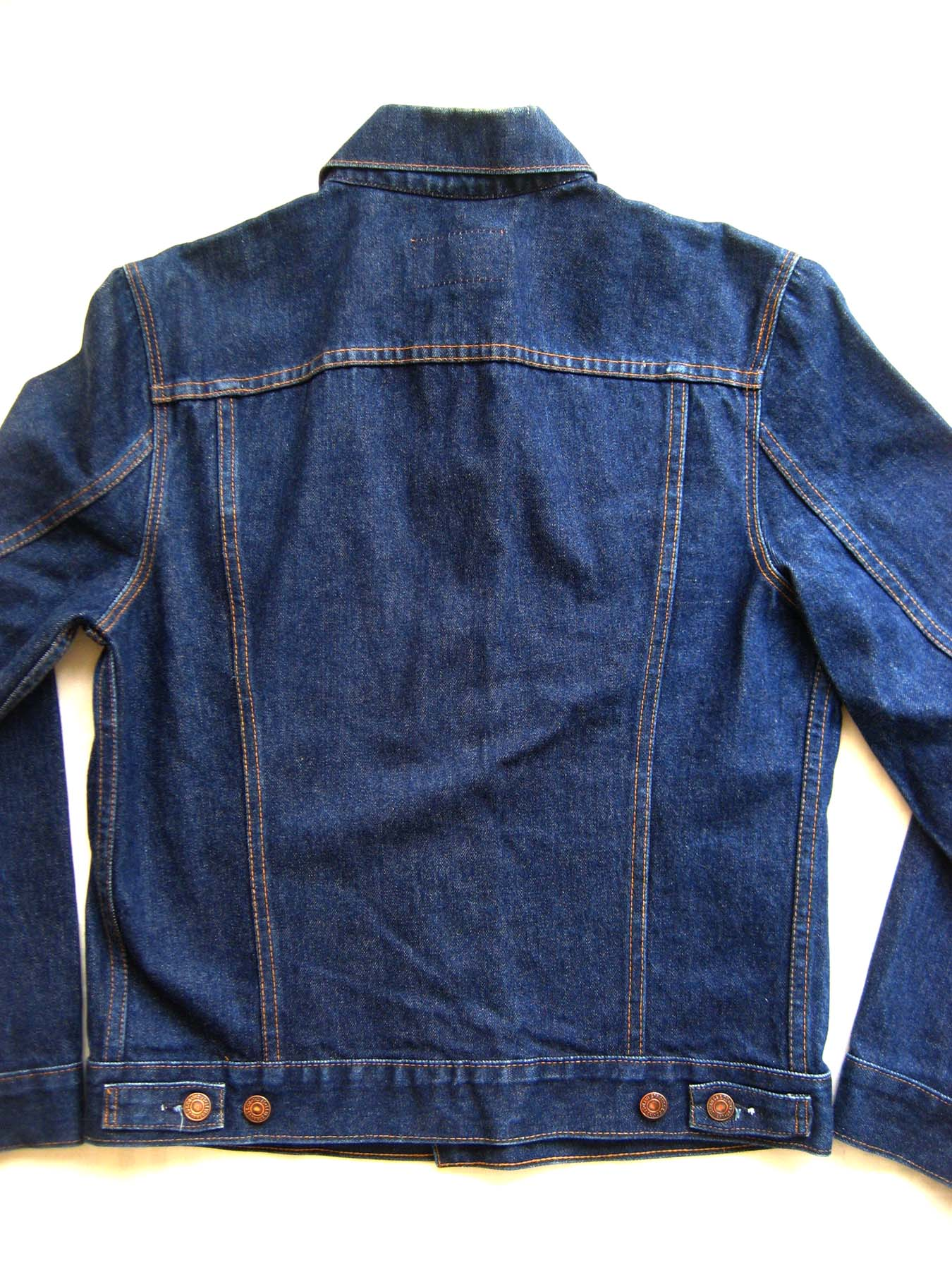 Back Of Denim Jacket - JacketIn
