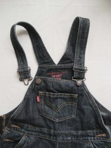 Levi's kids overall front