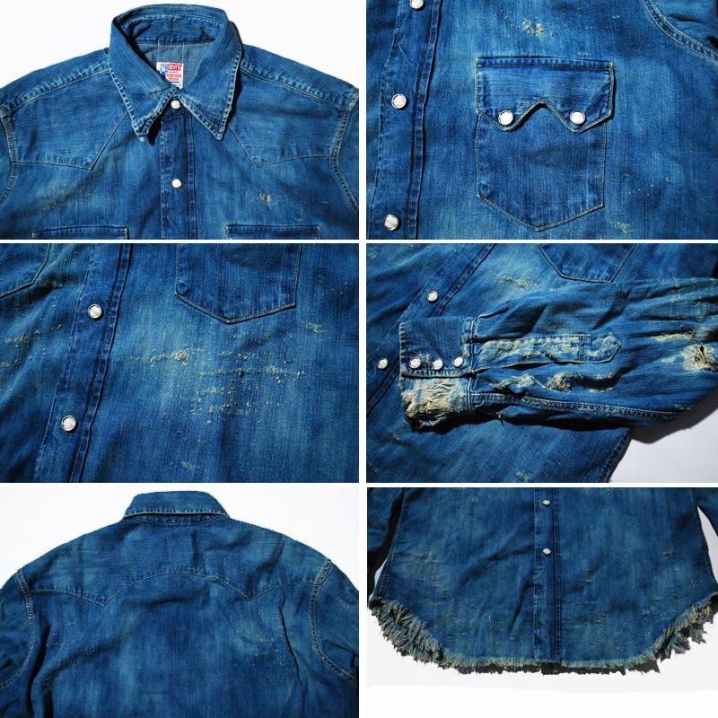 Levi S Vintage 1955 Sawtooth Denim Shirt