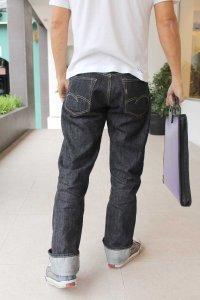 SD601-00 portfolio bag rear