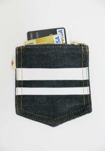 Momotaro Coin Case for credit cards