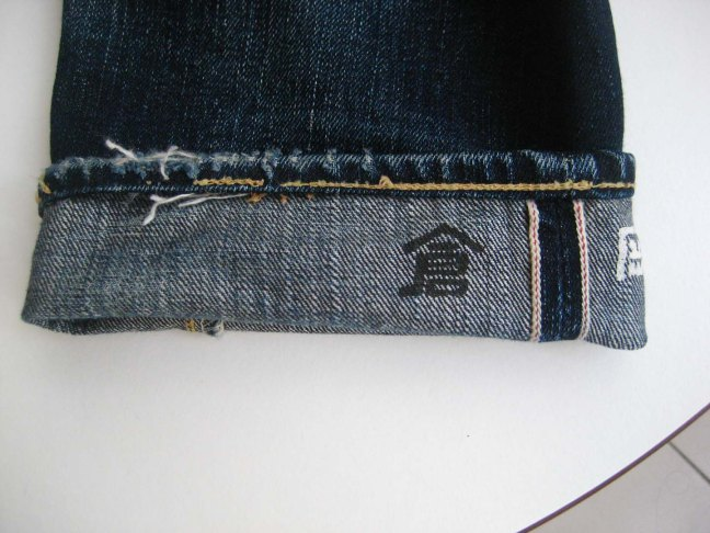 Eternal 883 right leg cuff chain stitch