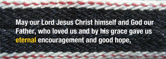 Selvedge 2 Thessalonians 2-16