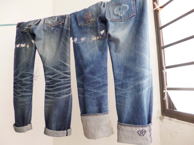 wind dry Eternal 883 & Levi's 501 1966model