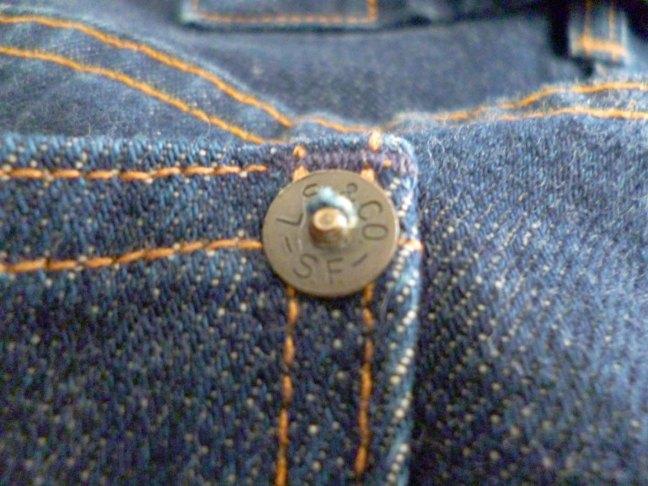 201 back pocket rivet