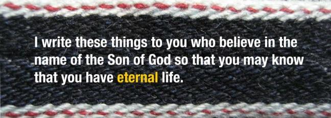 Selvedge 1 John 5-13