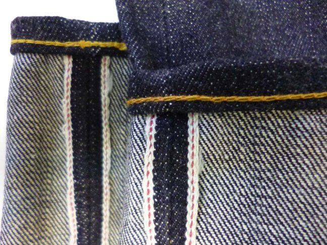 Eternal 888 after chain stitch hemming close up