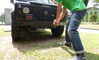 Levi's 501XX 1966 pull winch Defender110