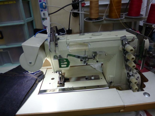 Tet Tailor chain stitch machine