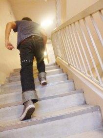 Eternal 888 running stairs 2