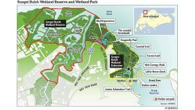 sungei buloh wetland reserve extension map