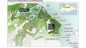 sungei buloh wetland reserve extension map