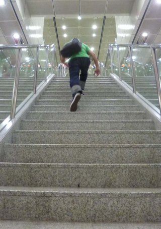 eternal-888-denim-jeans-perry-on-long-step-stair-climb-1