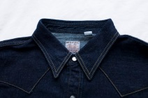 The Flat Head sawtooth denim shirt 3