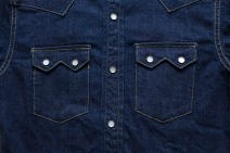 The Flat Head sawtooth denim shirt 4
