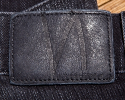 Nudie indigo patch