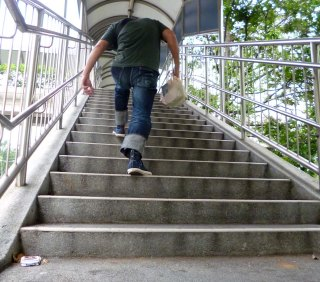 Eternal 888 stair climbing 3